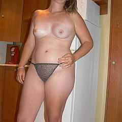 Fat-BBW undresses.