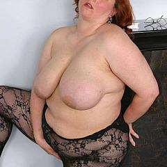 Fat-BBW redhead.
